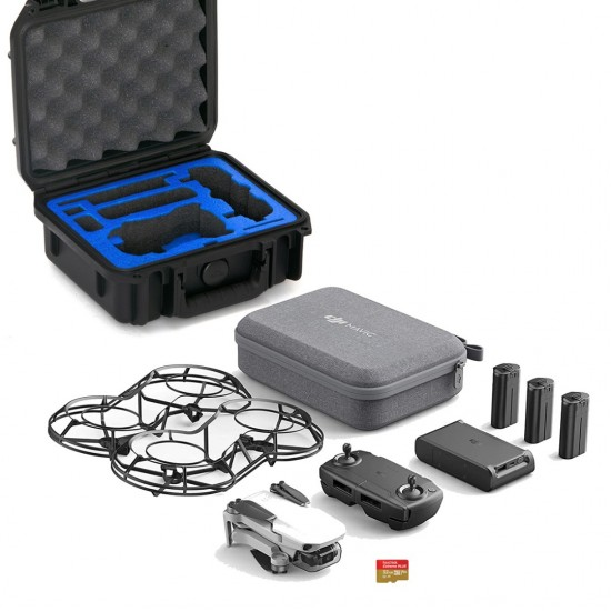 DJI Mavic Mini Fly More Combo w/ GPC Travel Case & Micro SD Card