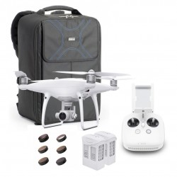 DJI Phantom 4 Pro v2 Bundle w/ Extra Battery, Backpack & ND Filter Set