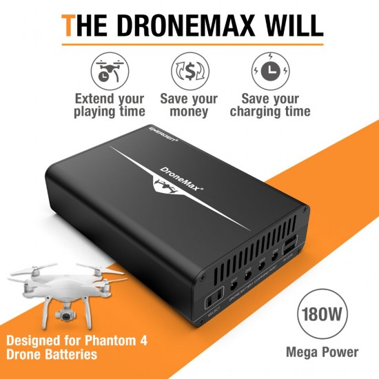 Energen DroneMax Charger for Phantom 4 Series