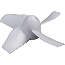 Blade - Inductrix - Prop Set, White (4) - BLH8705
