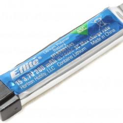 E-Flight - 200mAh 1S 3.7V 45C LiPo Battery - EFLB2001S45