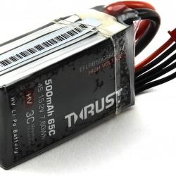 E-Flite Thrust™ FPV 500mAh 65C 4S HV LiPo Battery - EFLB5004S65HV