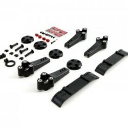 ImmersionRC - Vortex 250 Plastic Kit (Black)