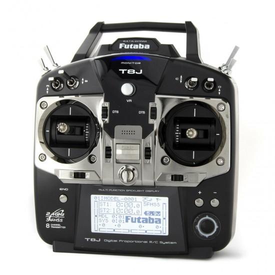 Futaba 8JH 8-Channel 2.4GHz Computer Radio System