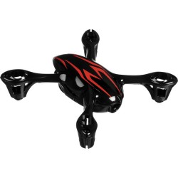 Hubsan Body Shell for H107C (Black/Red)
