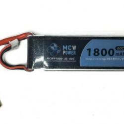 MCW Power 1,800mAh 3S 60C Battery