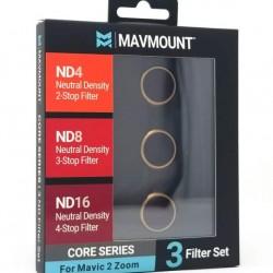 MavMount DJI Mavic 2 Zoom Drone ND Filters | CORE ND4, ND8, ND16