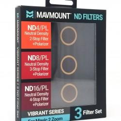 MavMount DJI Mavic 2 Zoom Drone Polarized ND Filters | VIBRANT ND4PL, ND8PL, ND16PL