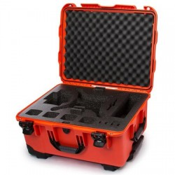 NANUK 950 DJI Phantom 3 Travel Case w/Wheels (Orange)