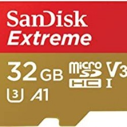 SanDisk 32GB Extreme microSDXC UHS-I Memory Card