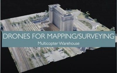 Using Drones for Mapping and Surveying