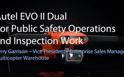 Autel EVO II Dual For Public Safety and Inspection