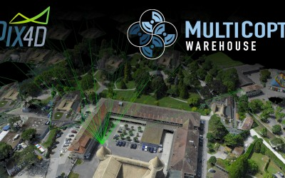 Multicopter Warehouse is now a Pix4D Reseller